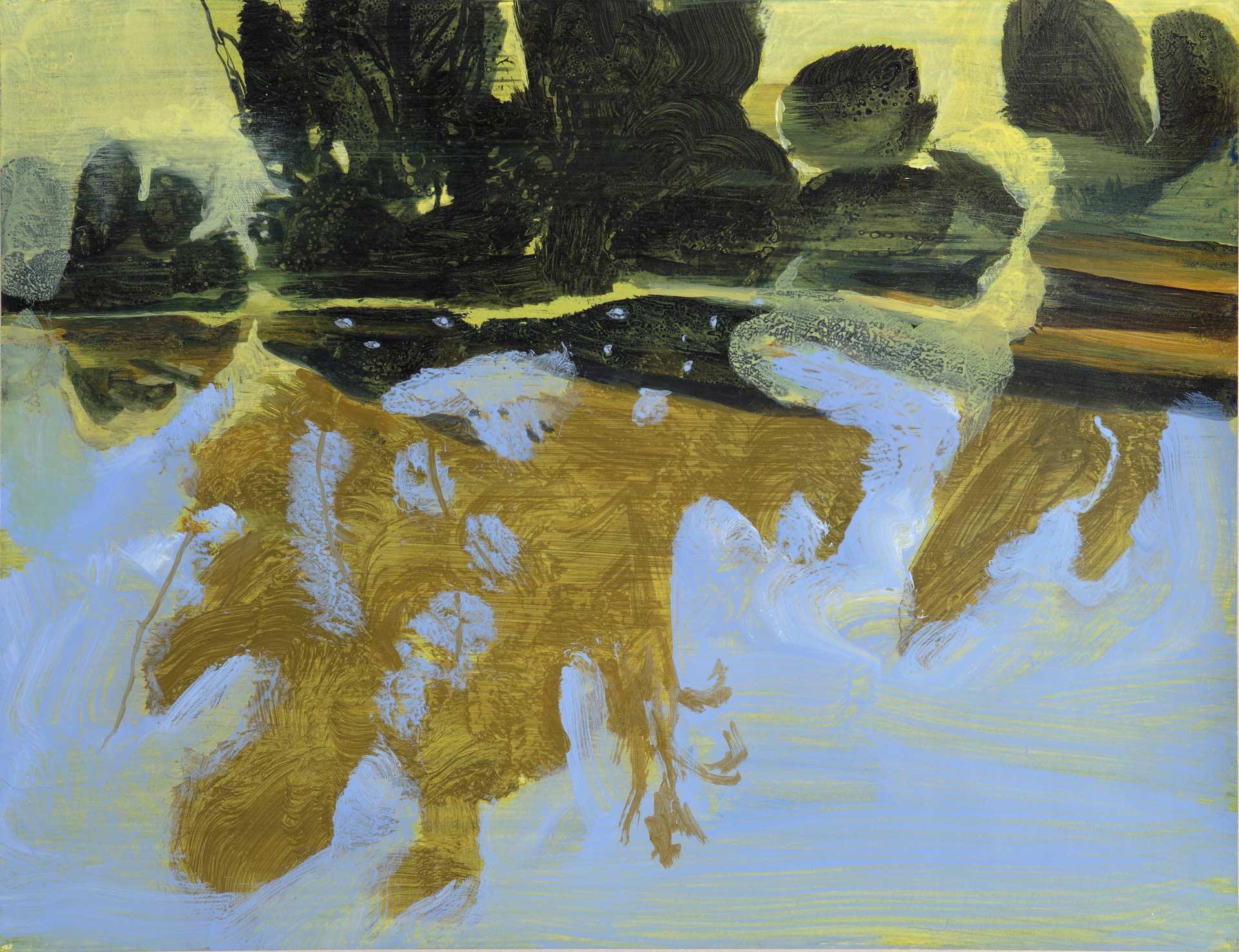 Villefranche-de-Rouergue,-2010,-acrylique-sur-papier,-50X65cm